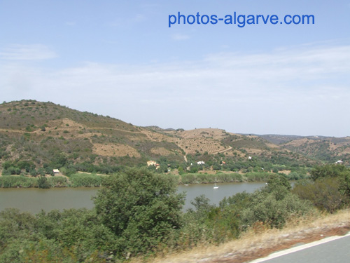 Route le long du Guadiana